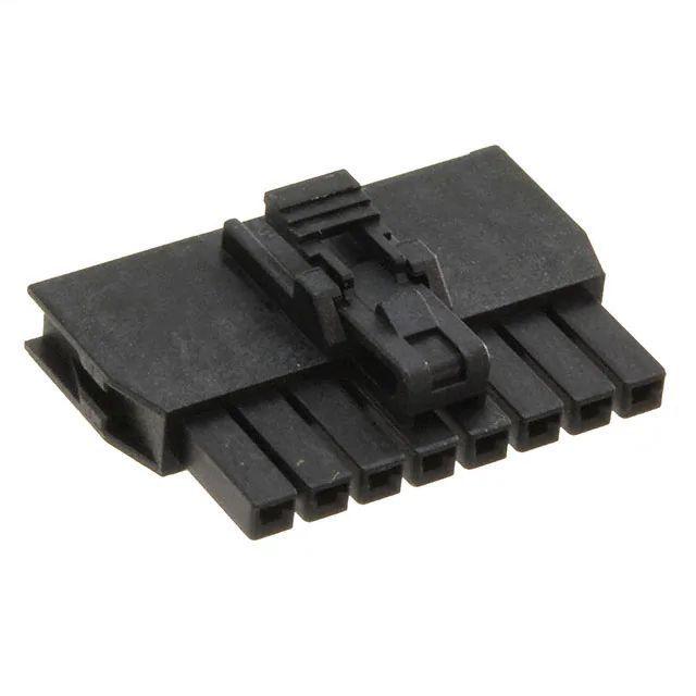 mini fit steckverbinder m nnlich 2 polig schwarz. Black Bedroom Furniture Sets. Home Design Ideas
