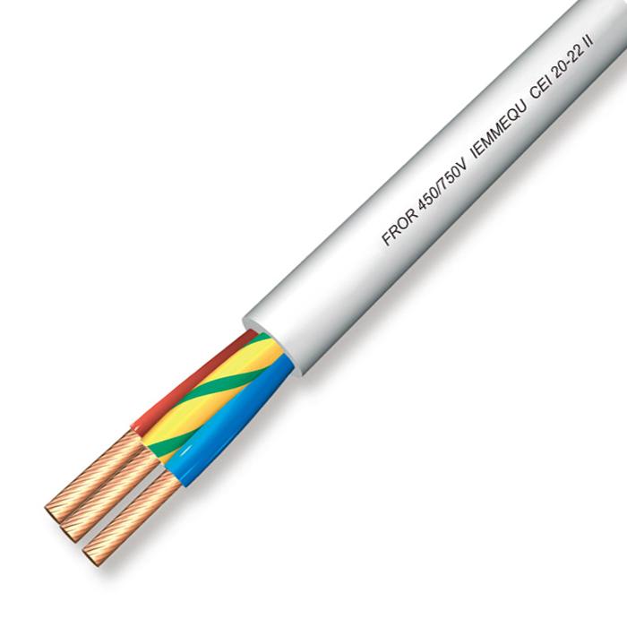 Terminale ad occhiello Foro 6,3 sezione 0.5-2 ottone stagnato